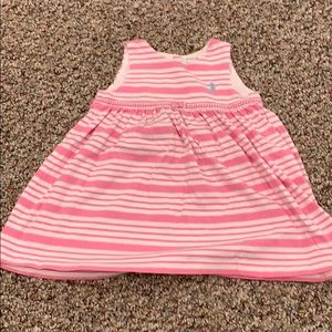 Ralph Lauren pink & white striped dress